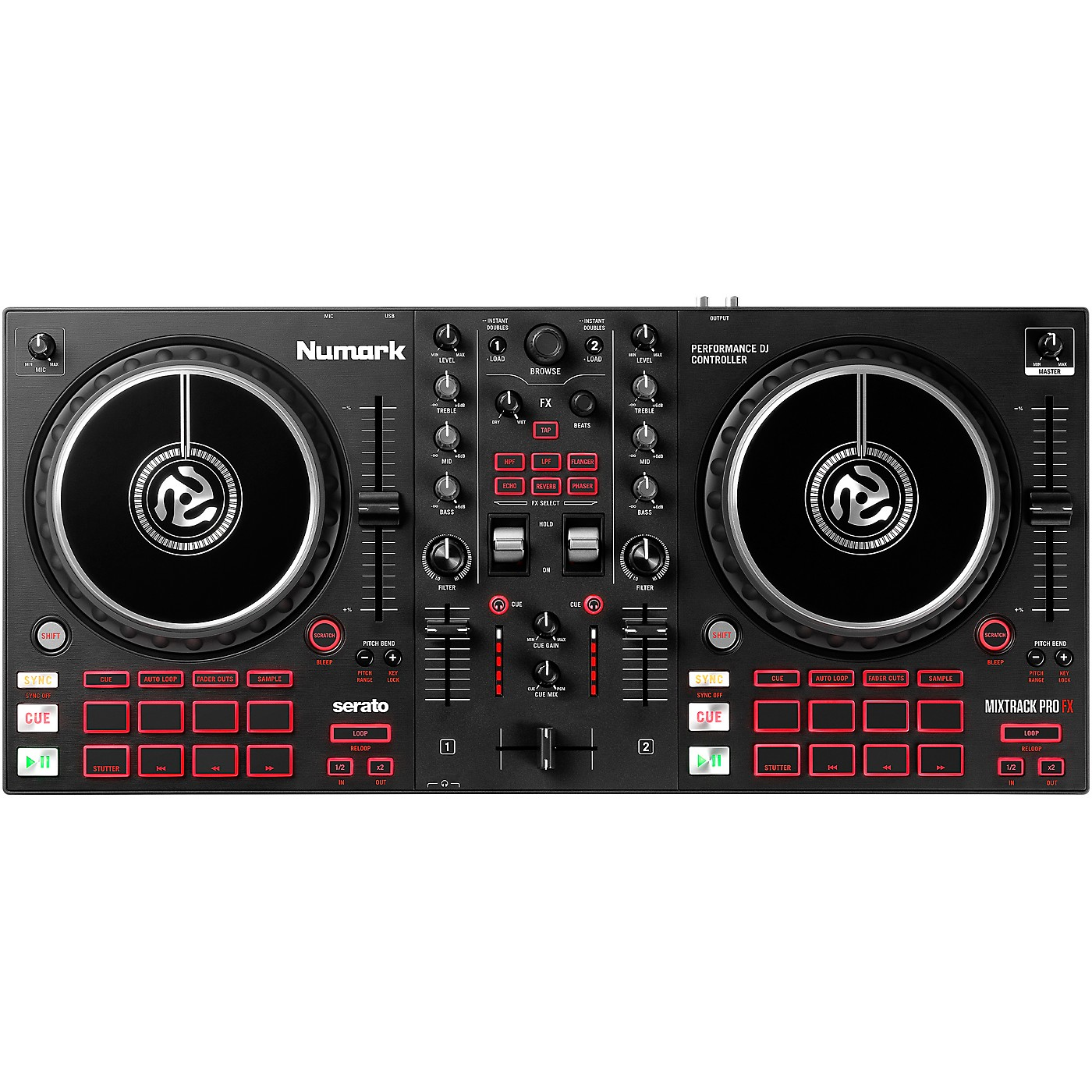 Numark Mixtrack Pro FX 2-Channel DJ Controller thumbnail