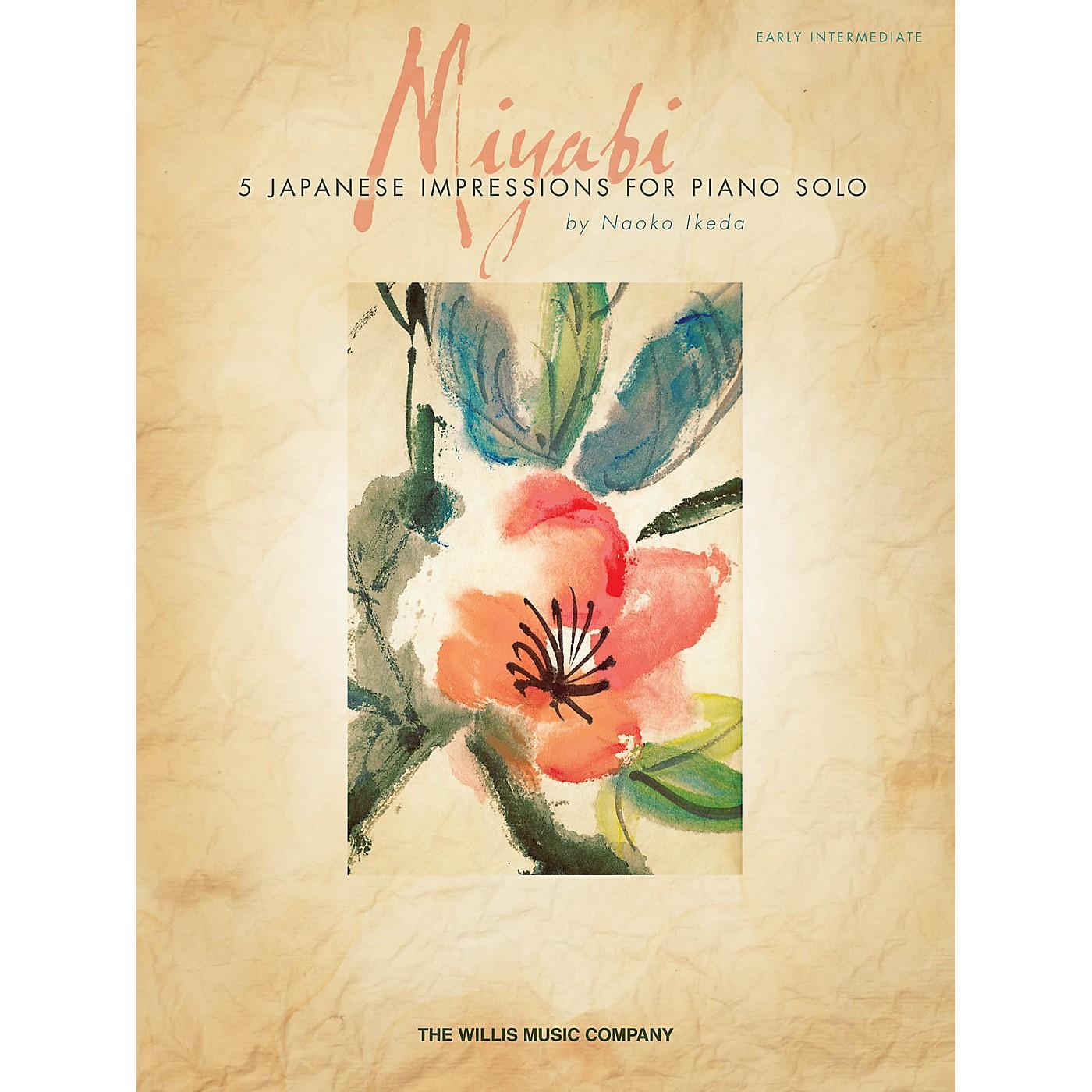 Willis Music Miyabi (Early Inter Level) Willis Series by Naoko Ikeda thumbnail