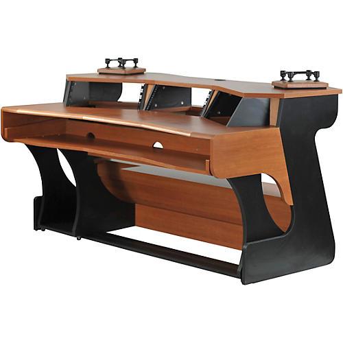 Black Cherry Miza X2 Studio Desk Wwbw