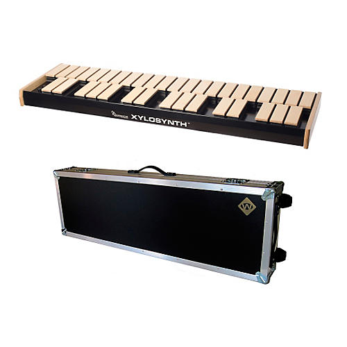 Wernick MkVI Blonde Birch Xylosynth w/Button Control, Internal Sounds, Flight Case and Accessories-thumbnail