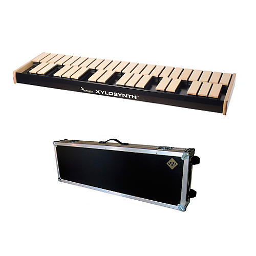 Wernick MkVI Blonde Birch Xylosynth w/Button Control, LED Display, Flight Case and Accessories-thumbnail
