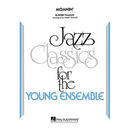 Hal Leonard Moanin' Jazz Band Level 3 Arranged by Mark Taylor thumbnail
