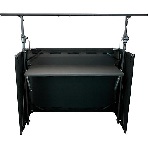 GLOBAL TRUSS Mobile DJ Table with Black Facade and Crank System Truss thumbnail
