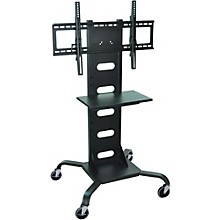 H. Wilson Mobile Flat Panel Display Stand With All-Steel Frame