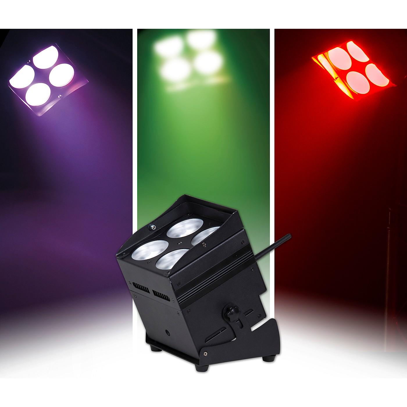 ColorKey MobilePar QUAD 4 2.4GHz W-DMX Wireless, Cordless RGBAW+UV LED PAR Wash Light thumbnail