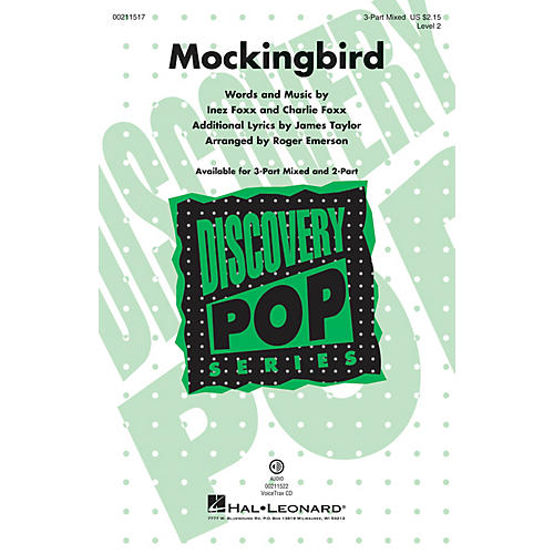 Hal Leonard Mockingbird (Discovery Level 2) VoiceTrax CD Arranged by Roger Emerson thumbnail