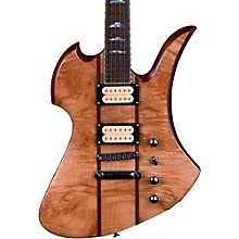 B.C. Rich Mockingbird Neck Through with Maple Burl Top and Dimarzios Electric Guitar