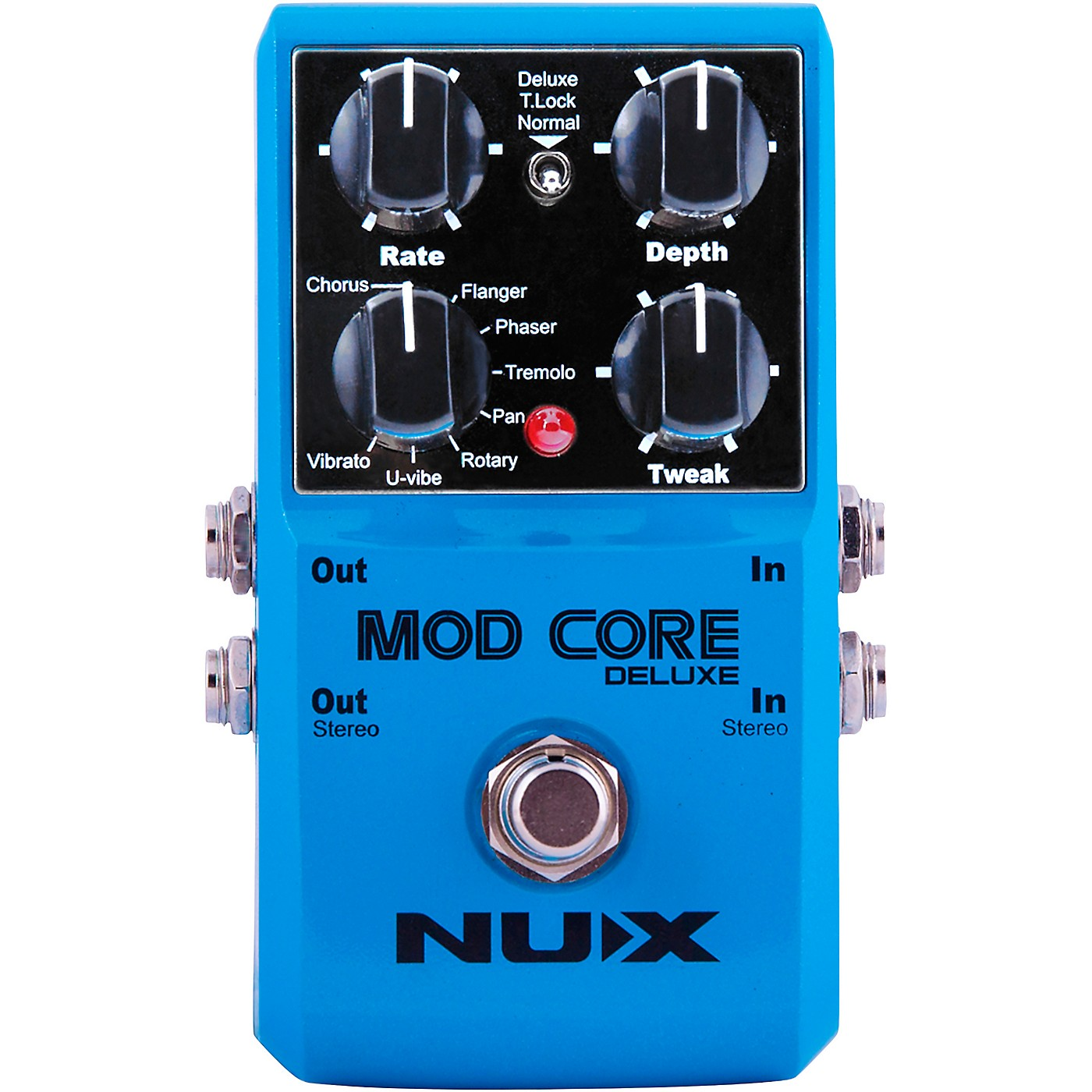 NUX Mod Core Deluxe Modulation Effects Pedal thumbnail