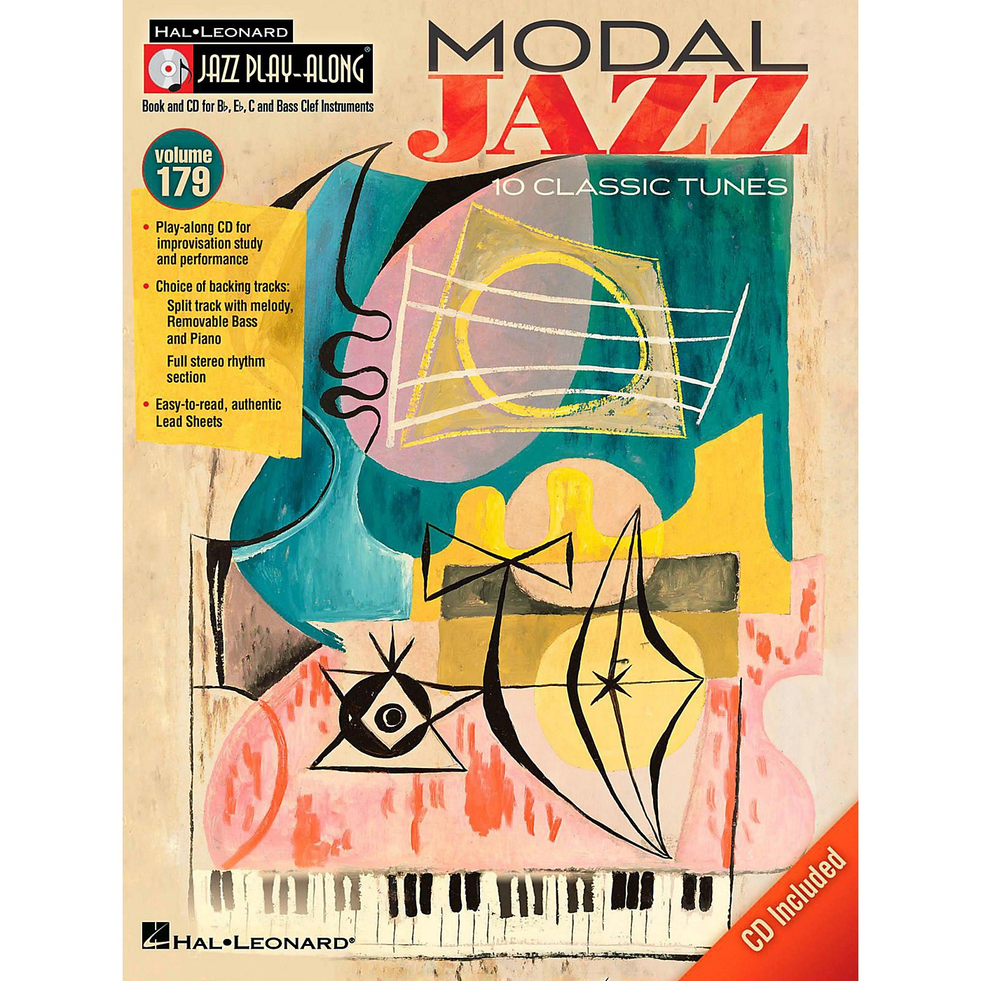 Hal Leonard Modal Jazz - Jazz Play-Along Volume 179 Book/CD thumbnail