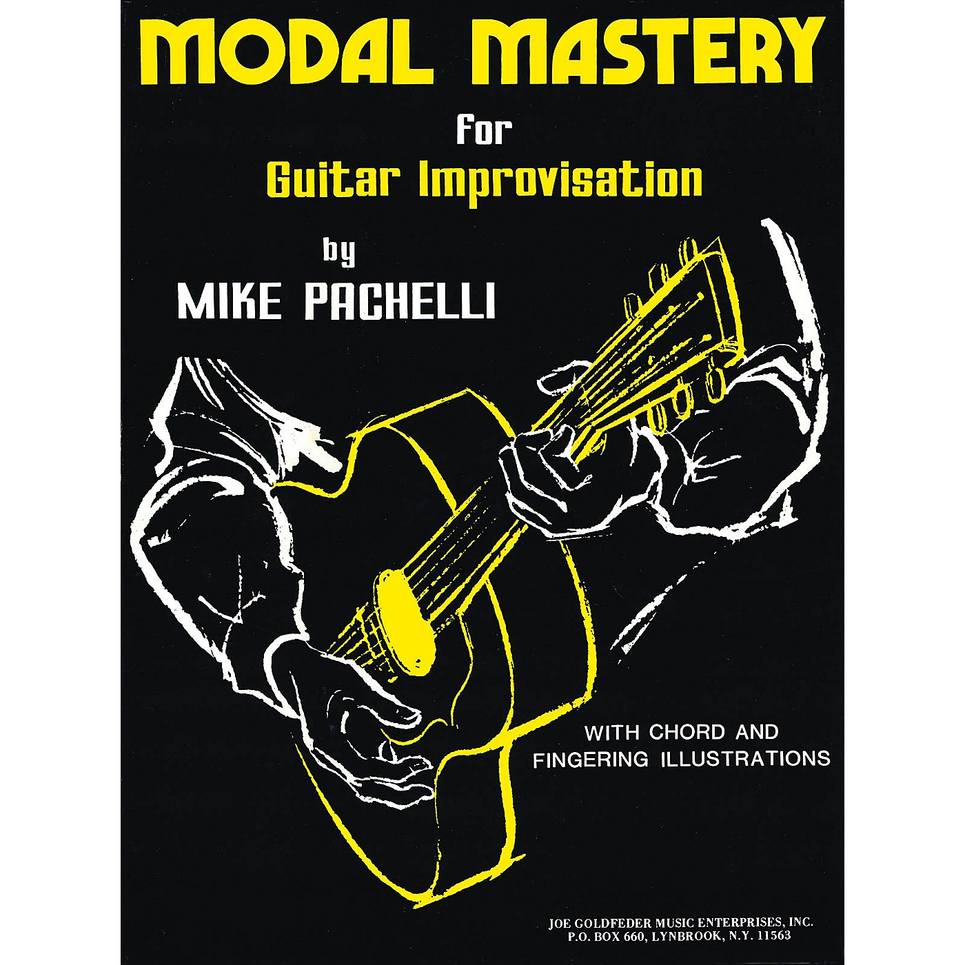 Criterion Modal Mastery for Jazz Guitar Improvisation Criterion Series Softcover Written by Mike Pachelli thumbnail