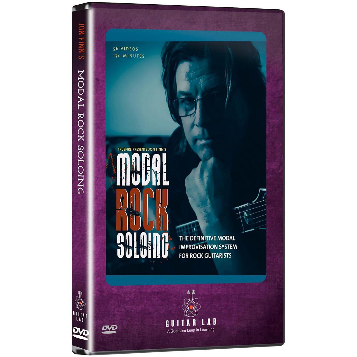 eMedia Modal Rock Soloing DVD thumbnail