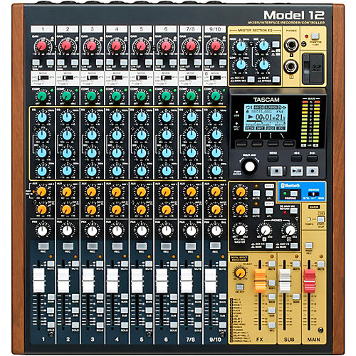 Tascam Model 12 All-in-One Production Mixer thumbnail