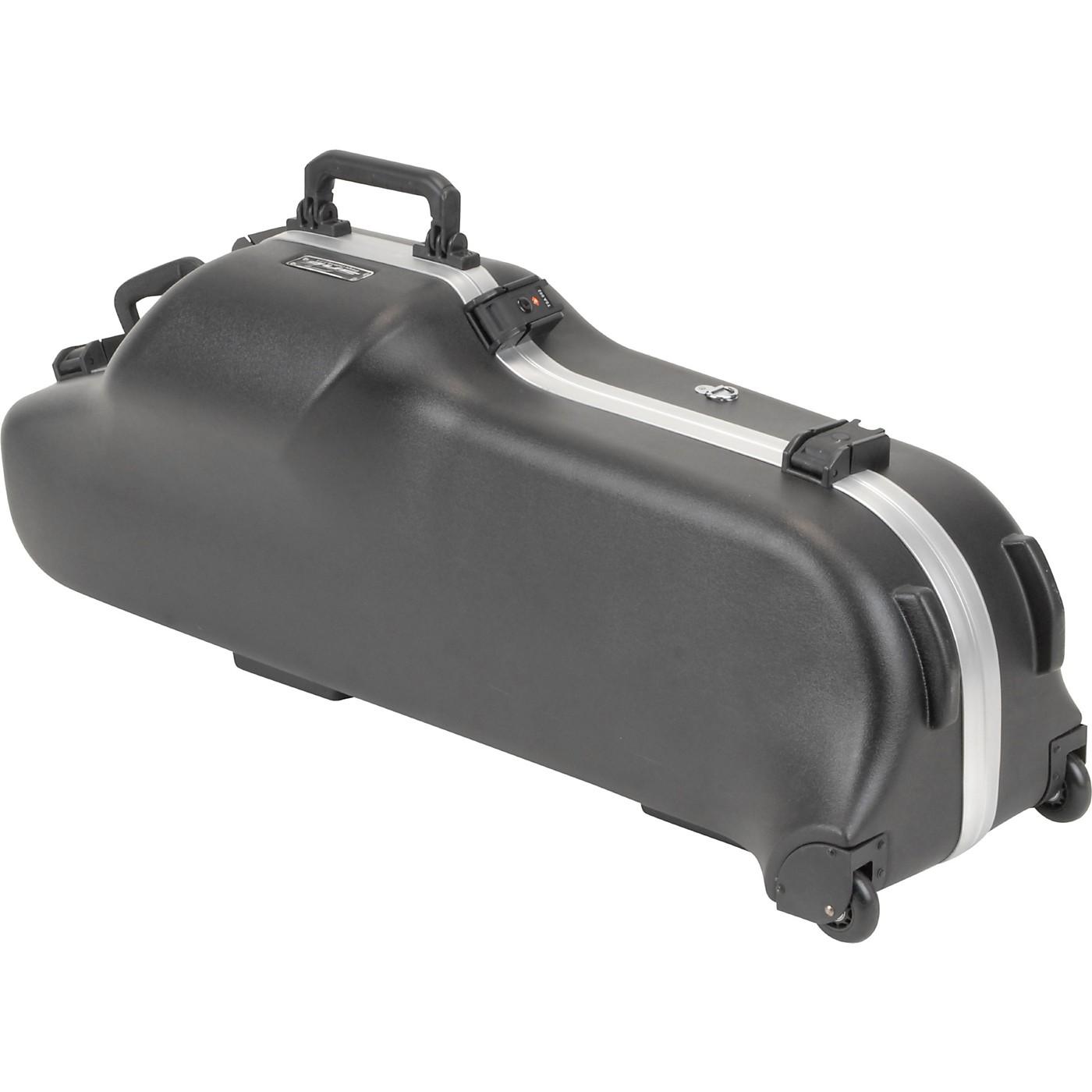 SKB Model 455W Universal Baritone Sax Case with Wheels thumbnail