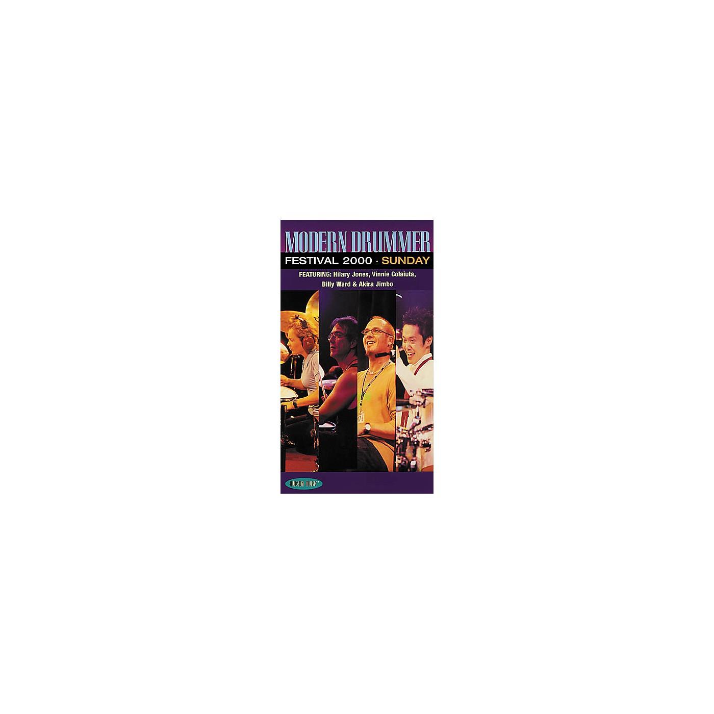 Hudson Music Modern Drummer Festival 2000 - Sunday Video thumbnail