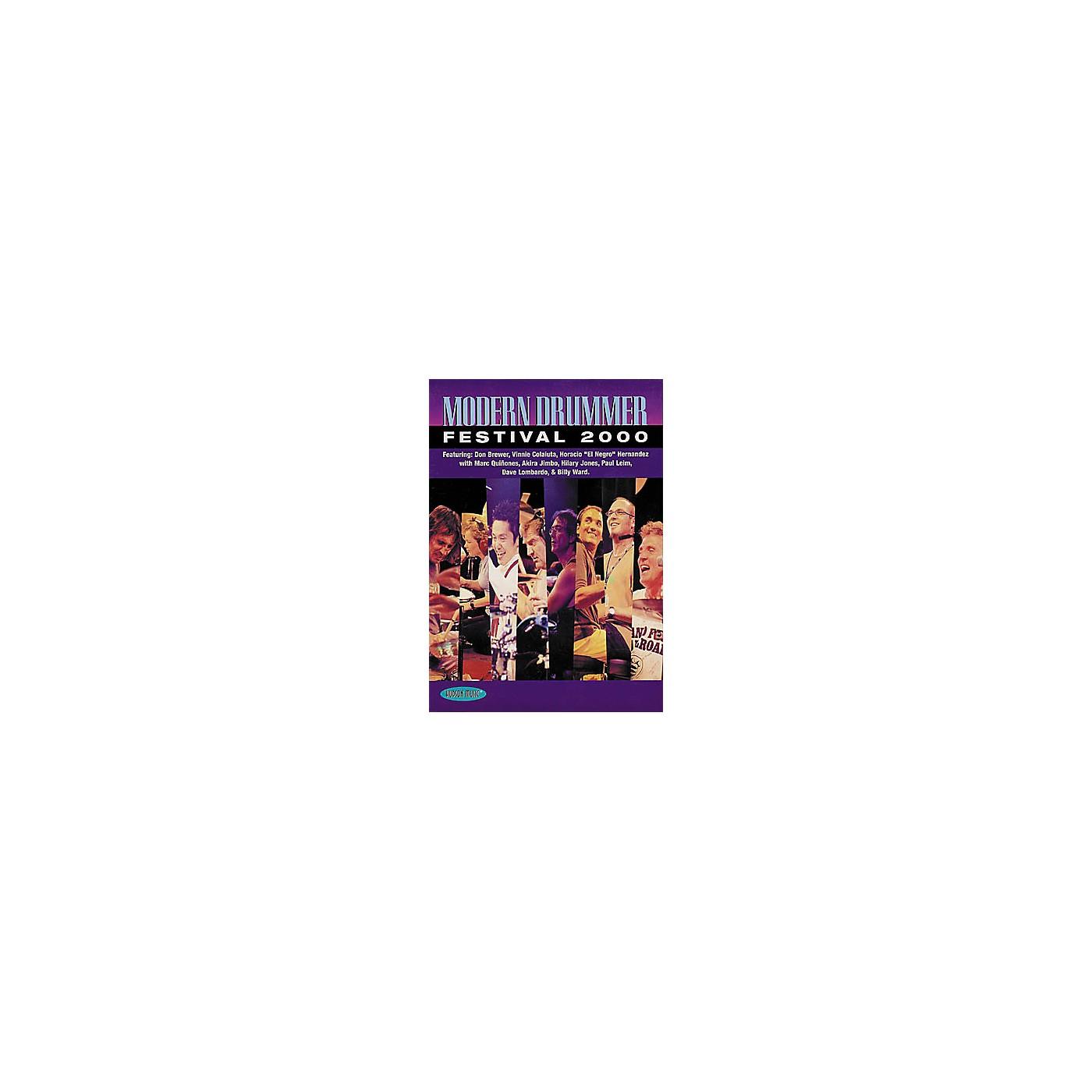 Hudson Music Modern Drummer Festival 2000 (DVD) thumbnail