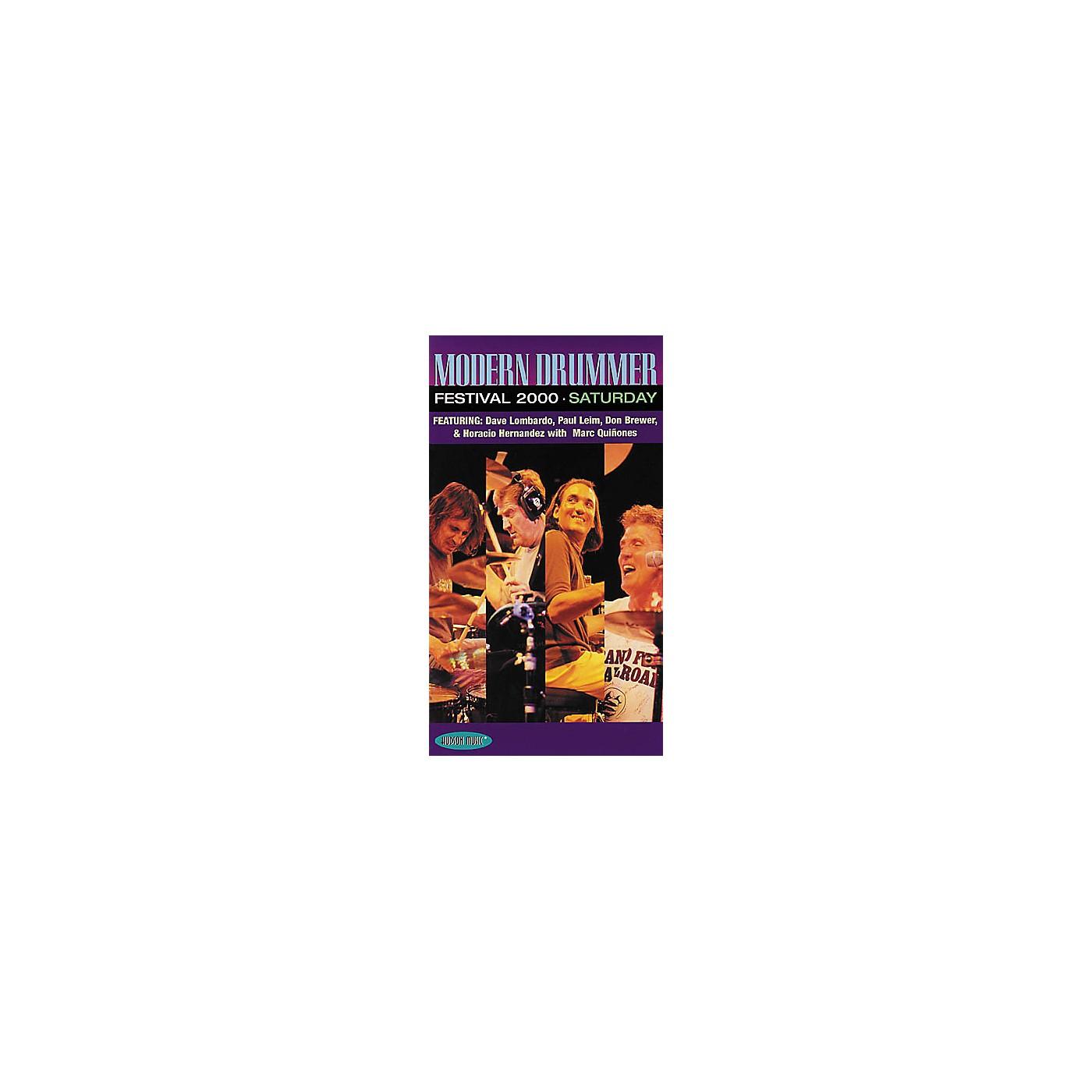 Hudson Music Modern Drummer Festival 2000 Saturday (VHS) thumbnail