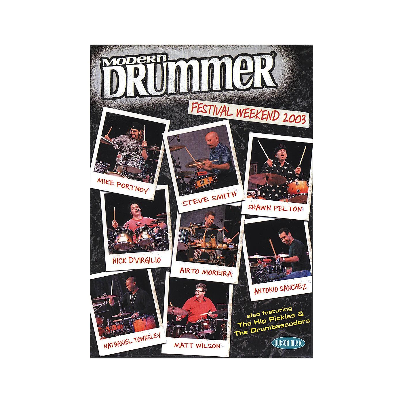 Hudson Music Modern Drummer Festival 2003 (2-DVD Set) thumbnail