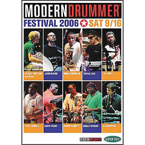 Hudson Music Modern Drummer Festival 2006 - Saturday (2-DVD Set) thumbnail