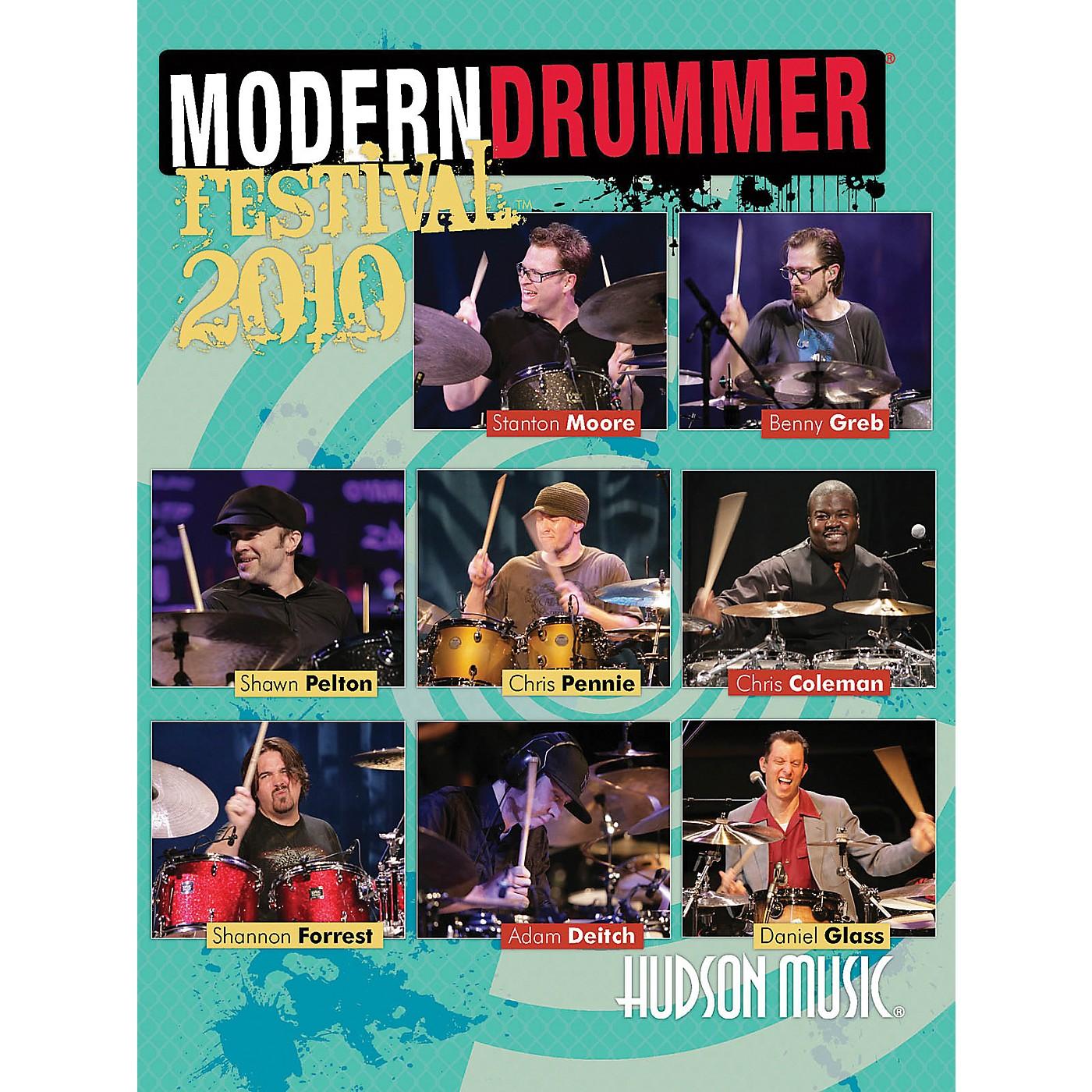 Hudson Music Modern Drummer Festival 2010 2-DVD Set thumbnail
