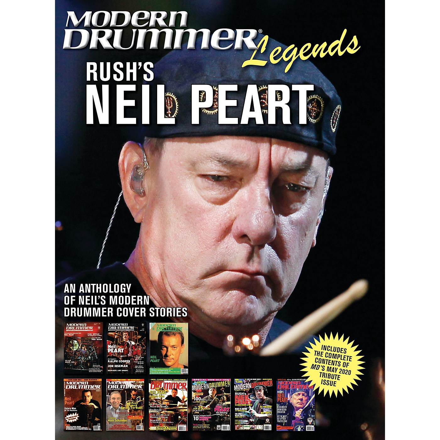 Modern Drummer Modern Drummer Legends: Rush's Neil Peart - An Anthology of Neil's Modern Drummer Cover Stories thumbnail