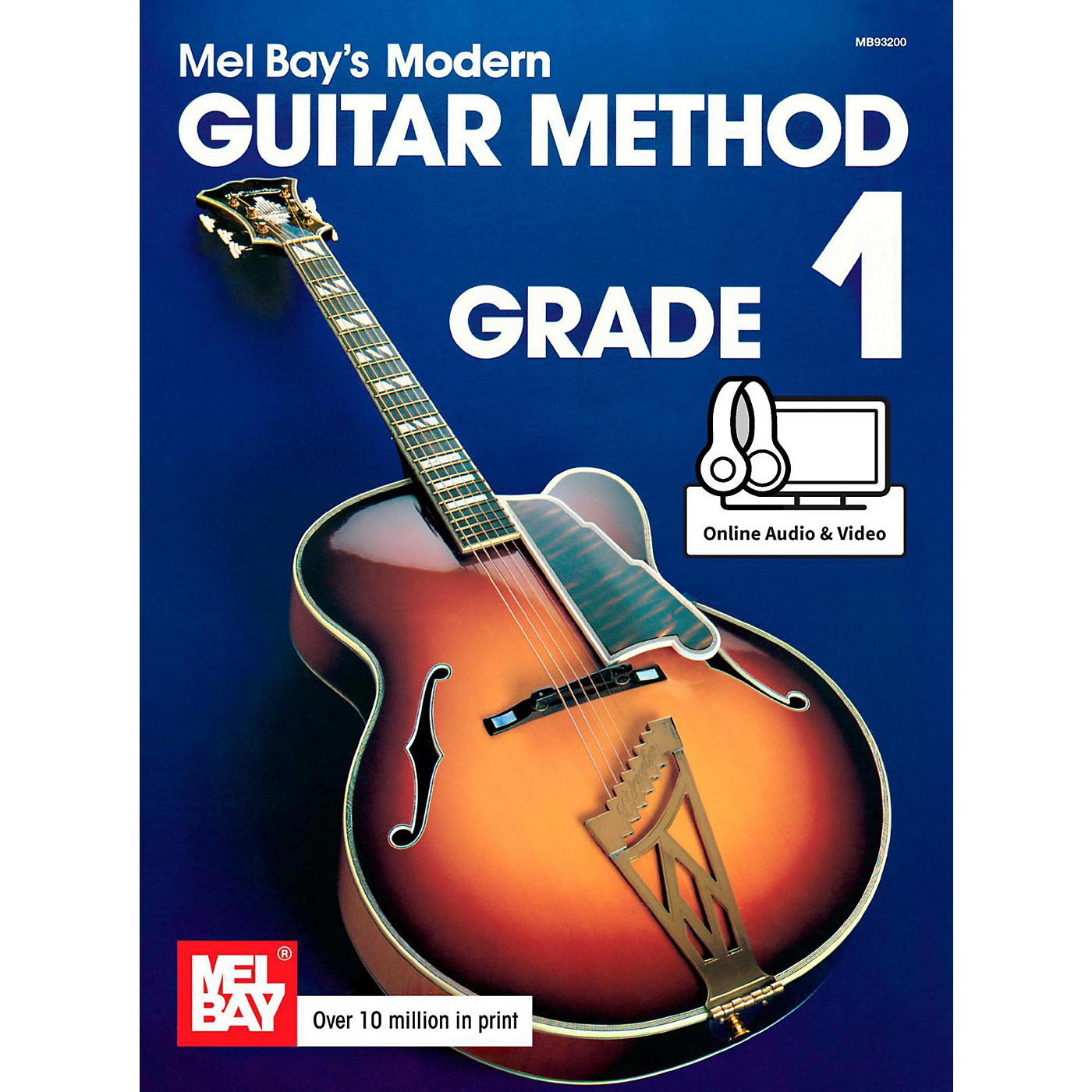 Mel Bay Modern Guitar Method Grade 1 Book thumbnail