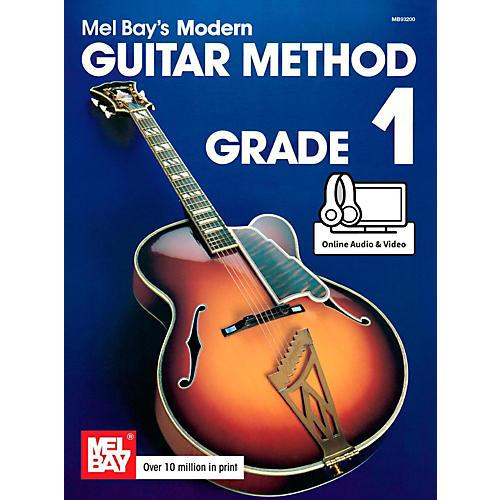 Mel Bay Modern Guitar Method Grade 1 Book thumbnail