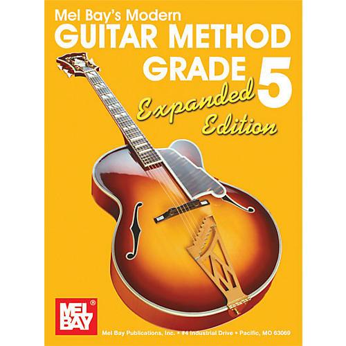 Mel Bay Modern Guitar Method Grade 5 Book - Expanded Edition-thumbnail