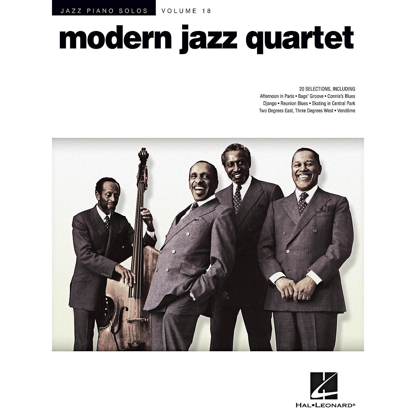Hal Leonard Modern Jazz Quartet - Jazz Piano Solos Series Volume 18 thumbnail