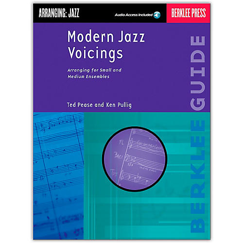 Berklee Press Modern Jazz Voicings Arranging for Ensembles Book/Online Audio thumbnail