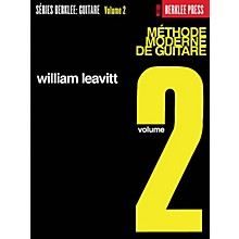 Berklee Press Modern Method for Guitar 2 (French Edition) Berklee Methods Series Written by William Leavitt