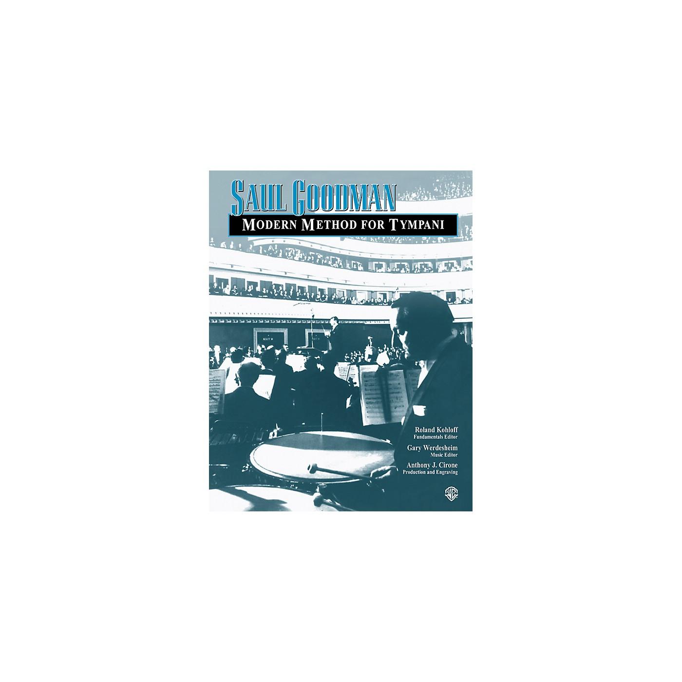 Alfred Modern Method for Tympani Book thumbnail