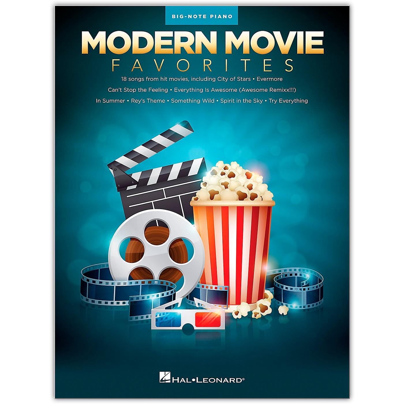 Hal Leonard Modern Movie Favorites for Big Note Piano thumbnail