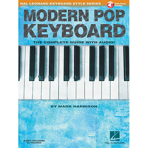 Hal Leonard Modern Pop Keyboard - The Complete Guide with Audio Keyboard Instruction Book/Audio Online by Mark Harrison thumbnail