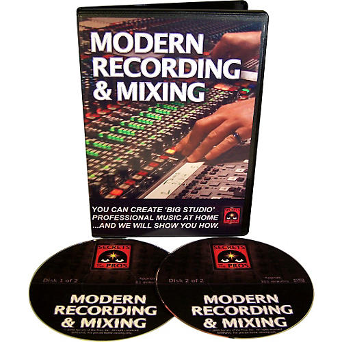 Secrets of the Pros Modern Recording & Mixing (DVD-ROM) thumbnail