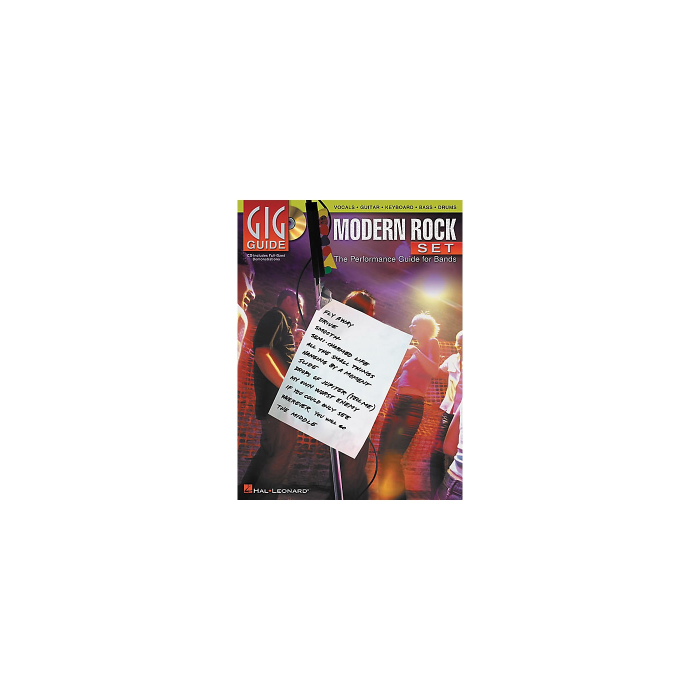 Hal Leonard Modern Rock Set Gig Guide (Book/CD) thumbnail