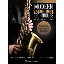 Hal Leonard Modern Saxophone Techniques Book/Online Video