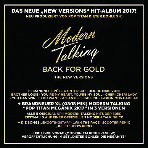Alliance Modern Talking - Back For Gold thumbnail