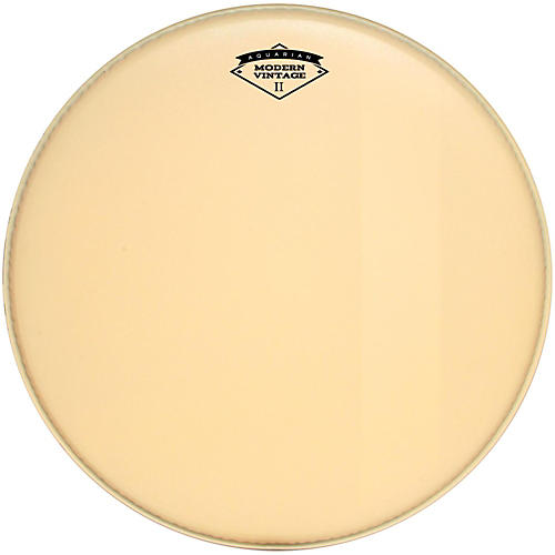 Aquarian Modern Vintage II Bass Drumhead with Felt Strip thumbnail