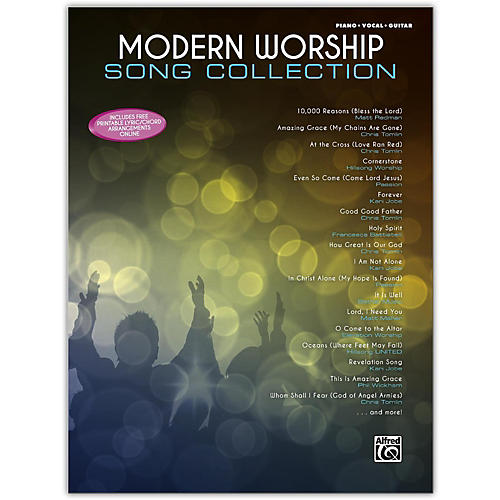 Alfred Modern Worship Song Collection Piano/Vocal/Guitar Songbook thumbnail