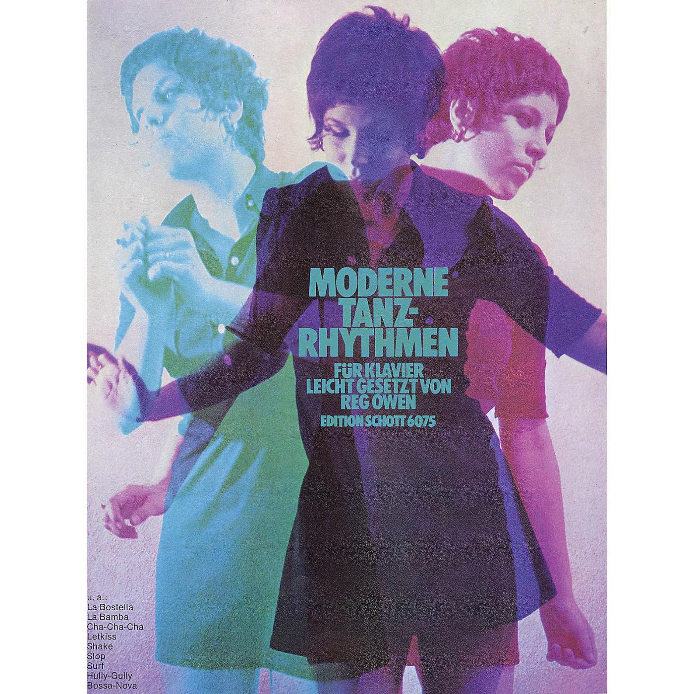 Schott Moderne Tanzrhythmen für Klavier Schott Series Softcover thumbnail