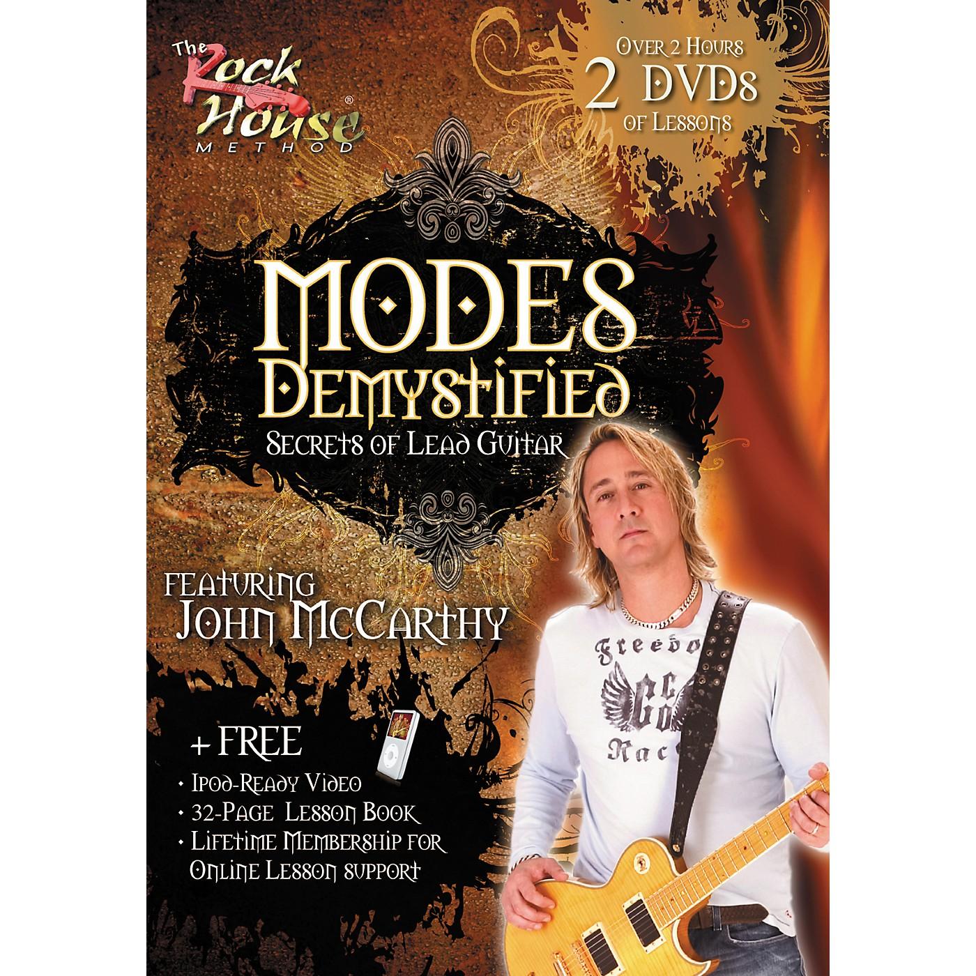 Rock House Modes Demystified - Secrets of Lead Guitar Featuring John McCarthy (2-DVD Set) thumbnail