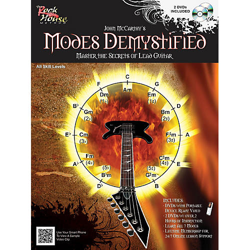 Rock House Modes Demystified Book/2 DVD Pack thumbnail
