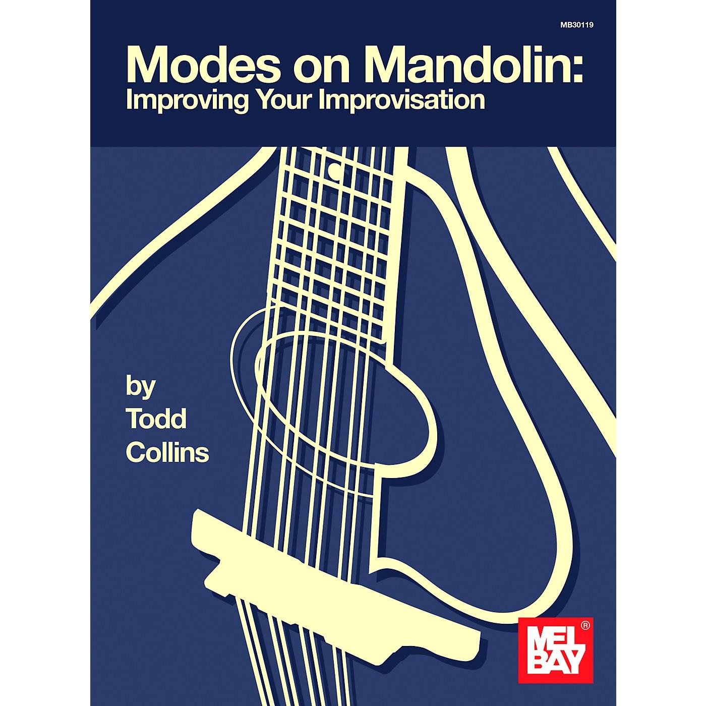 Mel Bay Modes on Mandolin: Improving Your Improvisation Book thumbnail