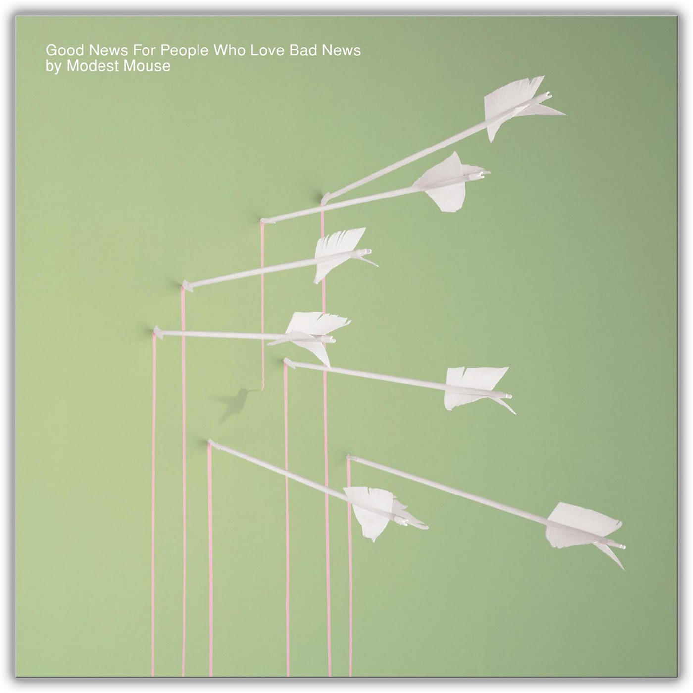 Sony Modest Mouse - Good News for People Who Love Bad News Vinyl LP thumbnail