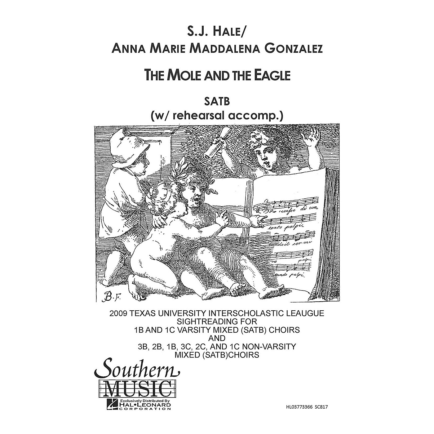 Hal Leonard Mole And The Eagle The (Choral Music/Octavo Secular Satb) SATB Composed by Gonzalez, Anna Marie thumbnail