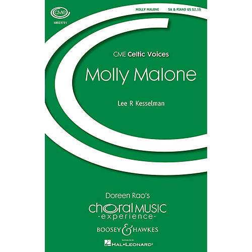 Boosey and Hawkes Molly Malone (CME Celtic Voices) SA arranged by Lee Kesselman thumbnail