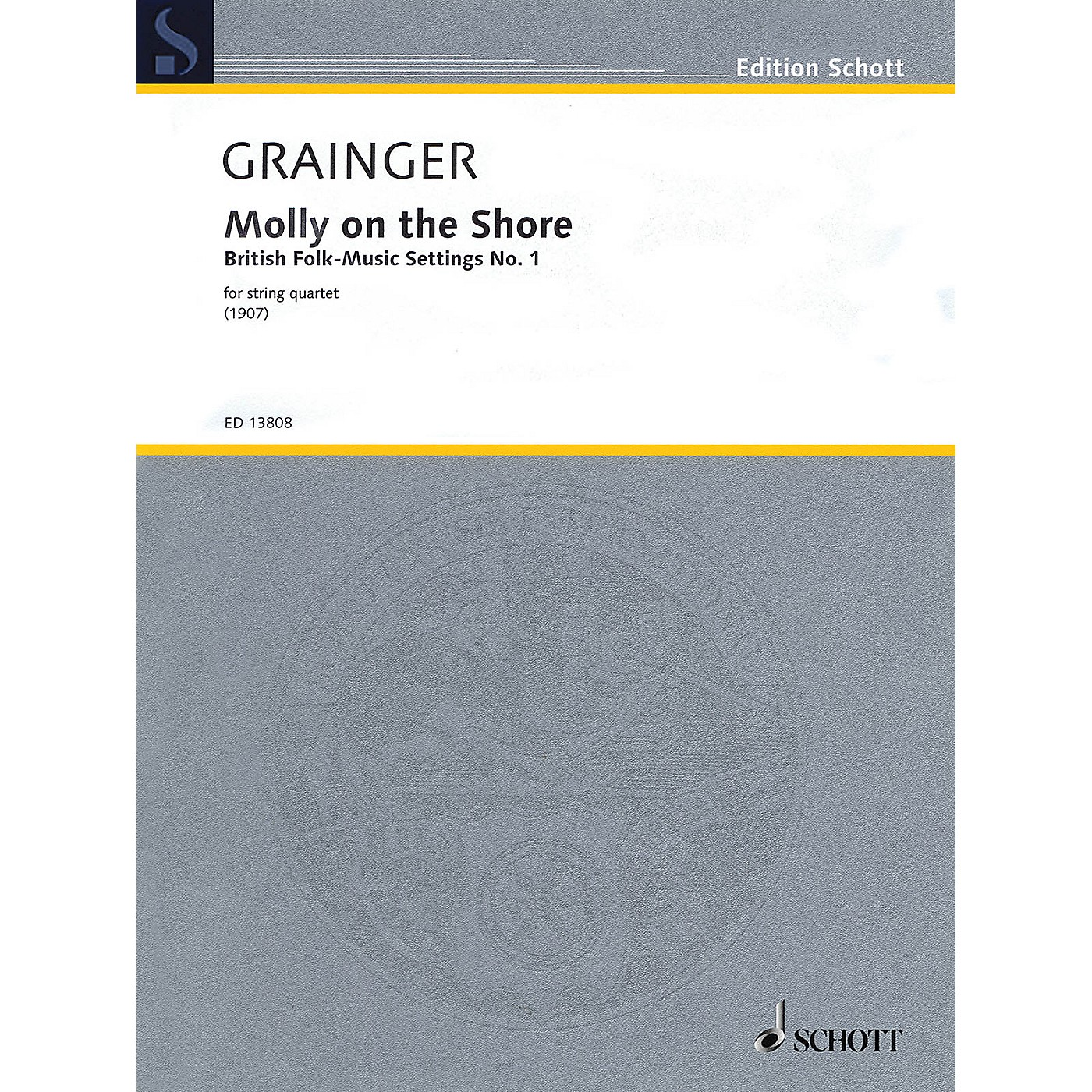 Schott Molly on the Shore String Series Softcover Composed by Percy Aldridge Grainger thumbnail