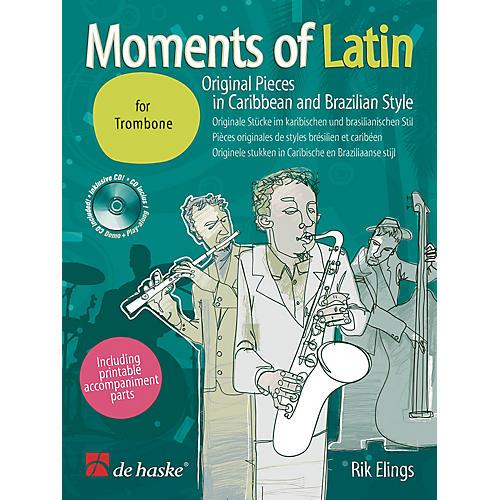 Hal Leonard Moments Of Latin Trombone Bk/cd Original Pieces In Caribbean & Brazilian Concert Band thumbnail