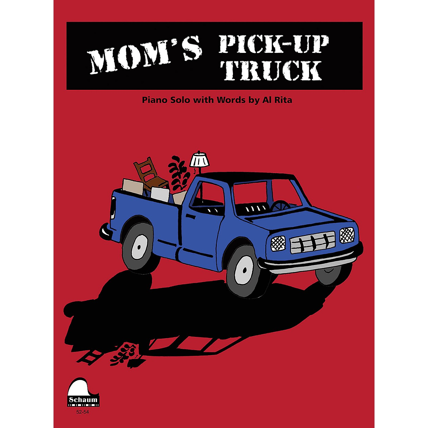 SCHAUM Mom's Pick-up Truck Educational Piano Series Softcover thumbnail
