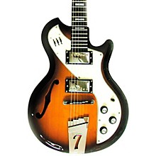 Italia Mondial II Semi-Hollow Electric Guitar